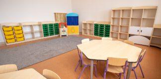 Zdjęcie z oddziału przedszkolnego przy Szkole Podstawowej nr 5 im. Zjednoczonej Europy w Kwidzynie