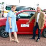 Hybrydowy Fiat 500 dla stacji socjalnej w Kwidzynie